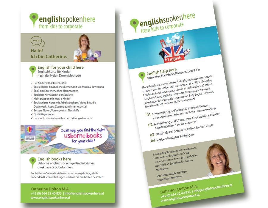 Flyer - englishspokenhere