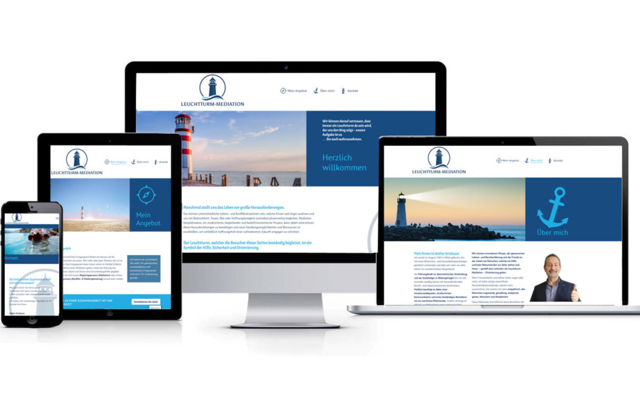 Website made by fullspectrum - leuchtturm-mediation.at