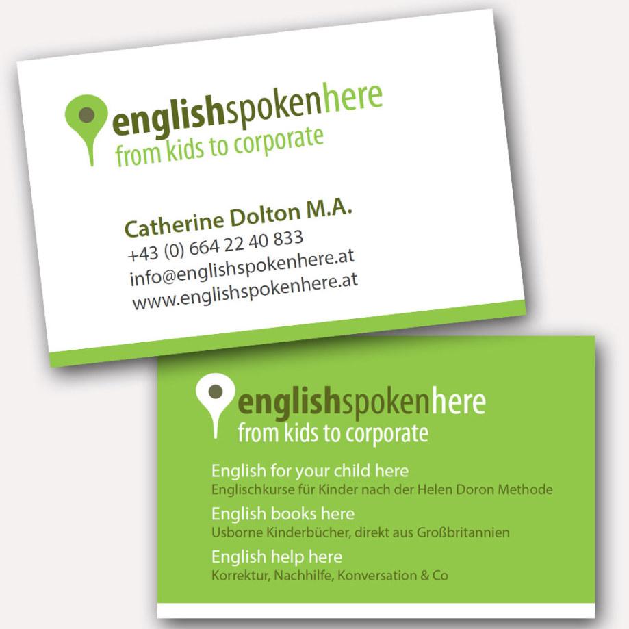 Visitenkarten fullspectrum - englishspokenhere