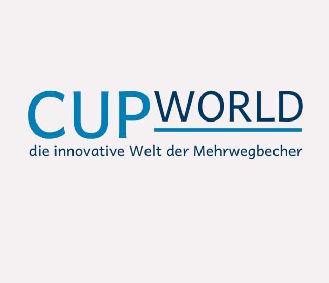Logo - CUPWORLD die innovative Welt der Mehrwegbecher