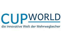 Logo made by fullspectrum - CUPWORLD die innovative Welt der Mehrwegbecher