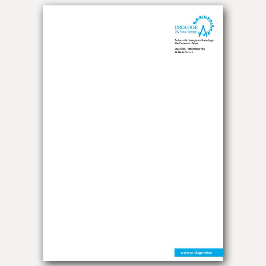 Briefpapier - Dr. Rauchberger Urologe