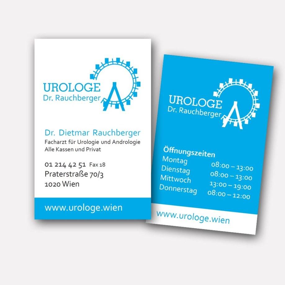 Visitenkarte - Dr. Rauchberger Urologe