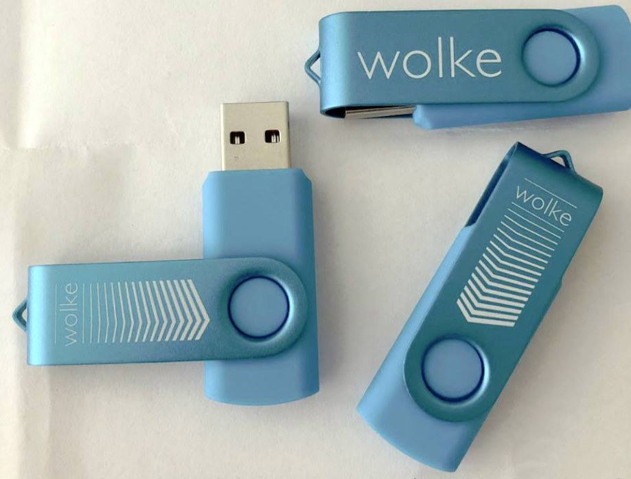 Werkstatt fullspectrum - USB-Sticks für Eventwolken