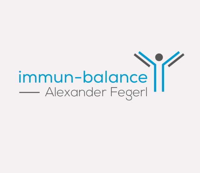 Logo - immun-balance | Alexander Fegerl