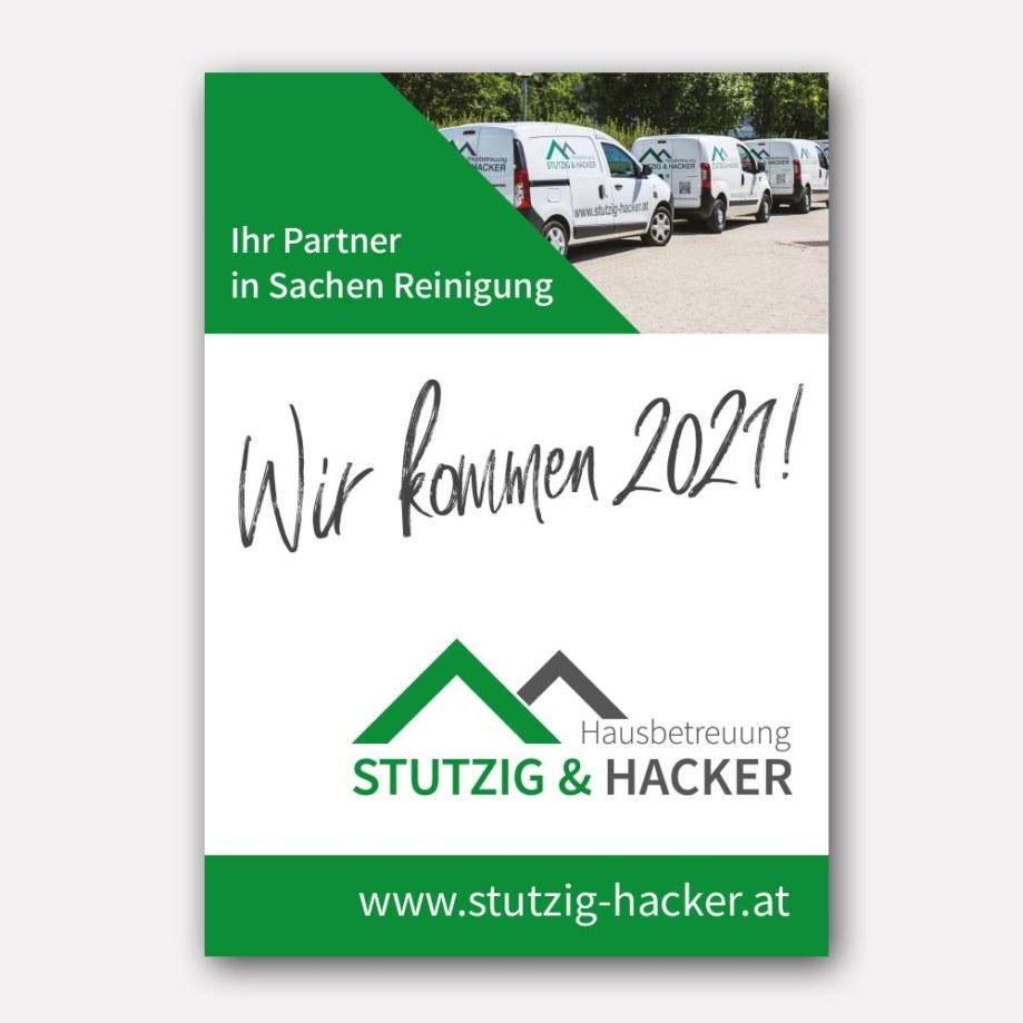 Plakate - Hausbetreuung Stutzig & Hacker