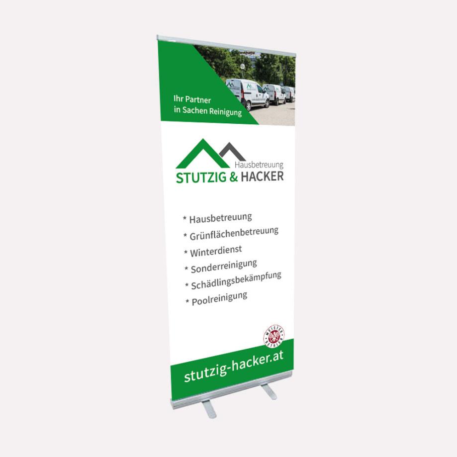 Roll-Up - Hausbetreuung Stutzig & Hacker