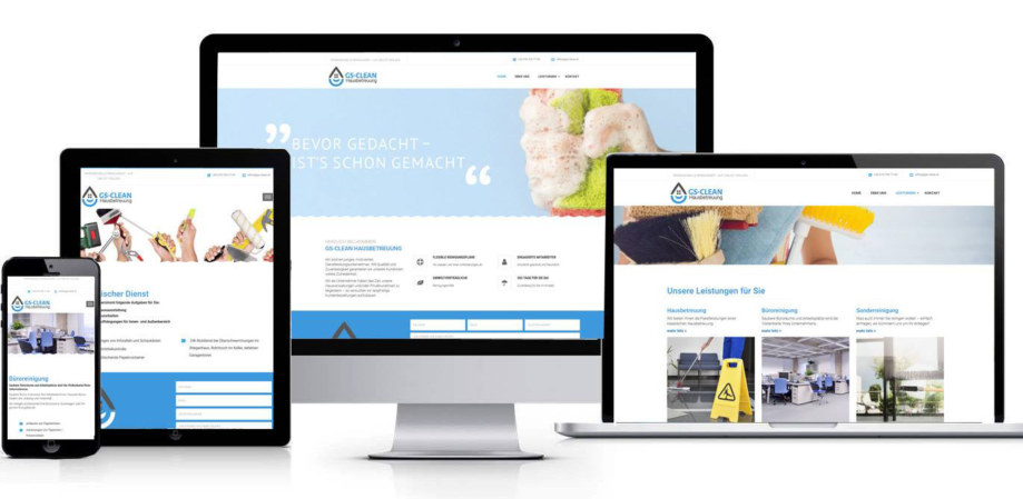 Website made by fullspectrum - gs-clean.at