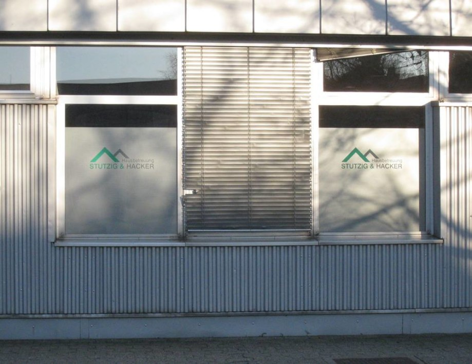 Werkstatt fullspectrum - Banner für Hausbetreuung Stutzig & Hacker