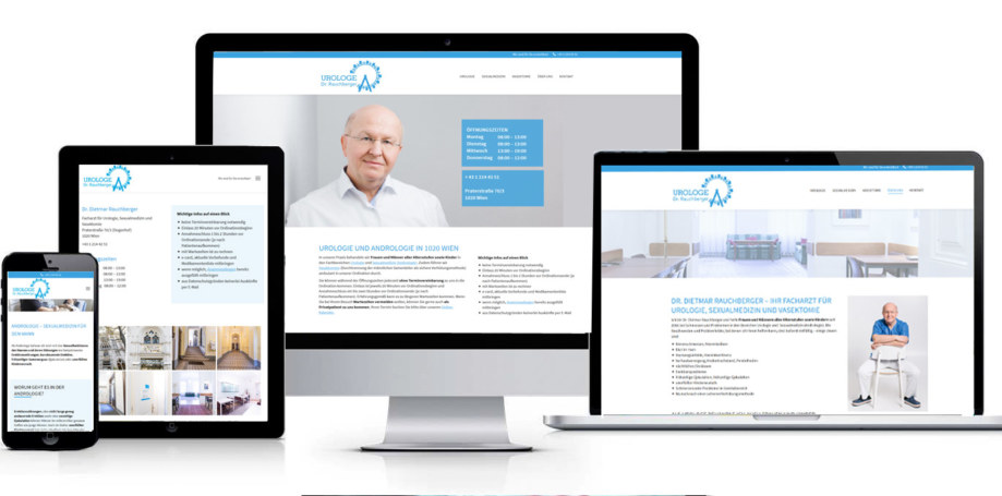 Website - Dr. Rauchberger Urologe